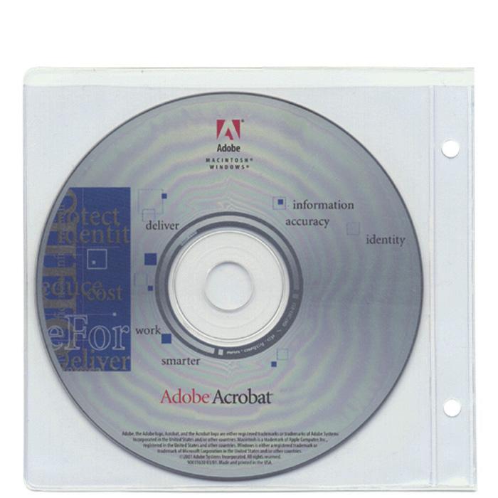 Cossa CD/DVD File pockets