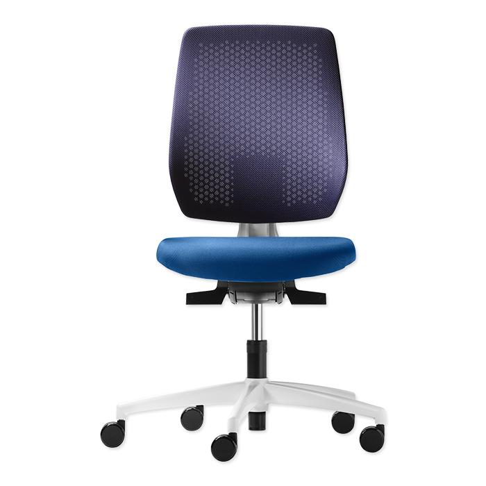 Dauphin swivel chair Shape mesh Polo