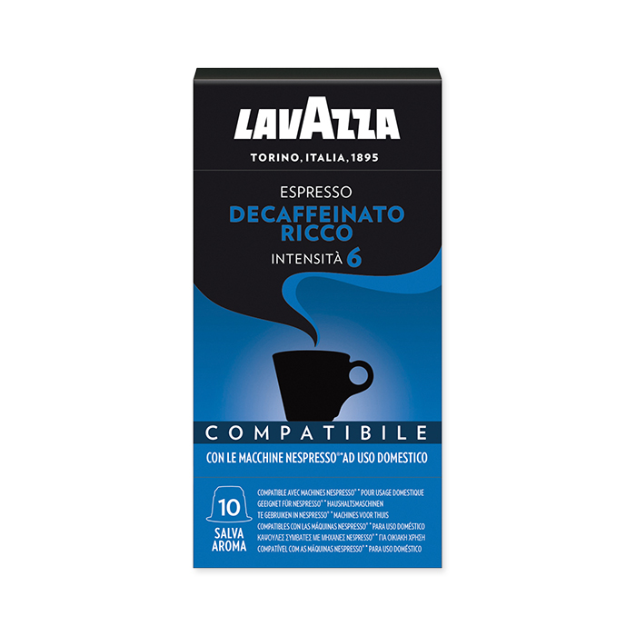 Lavazza Caps NCC Espresso Decaffeinato Ricco