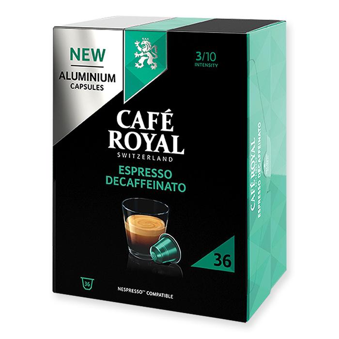 Café Royal Caps Espresso Decaffeinato