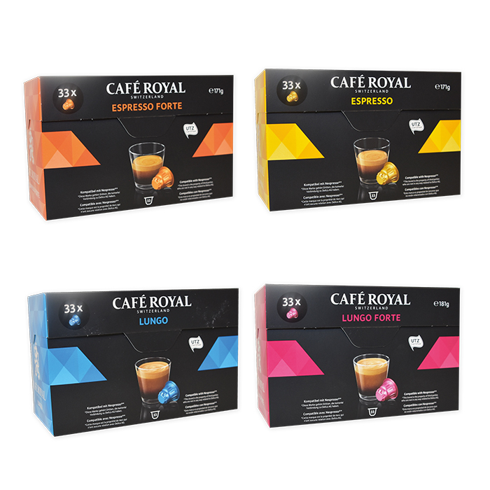 Café Royal Caps Espresso Decaffinato - (40 ml)