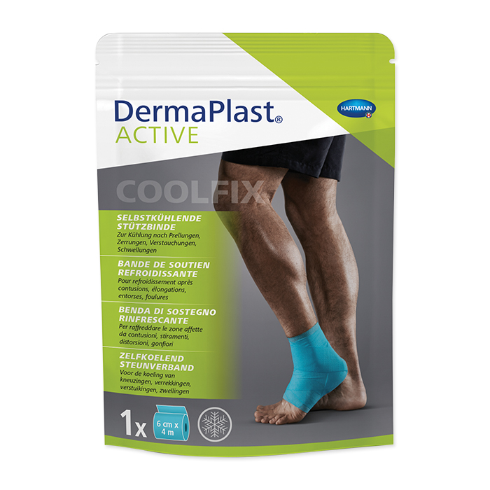 Derma Plast Active self-cooling support bandage