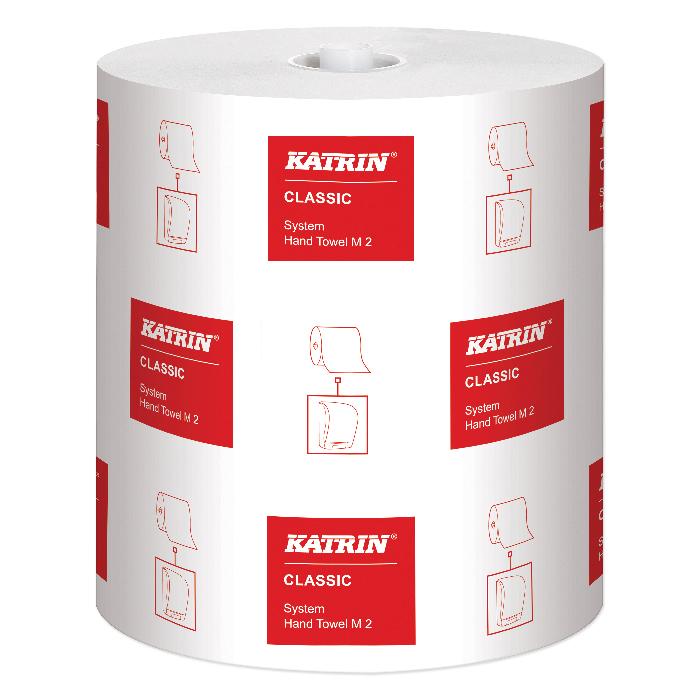 Bobine di carta asciugamani Katrin Classic System M2 21,0 cm x 160 m