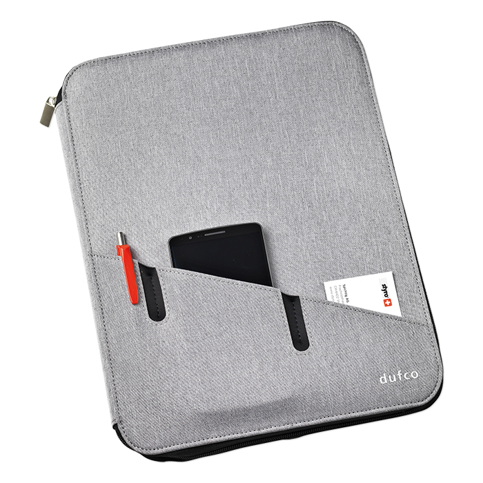 Dufco Conference folder with powerbank
