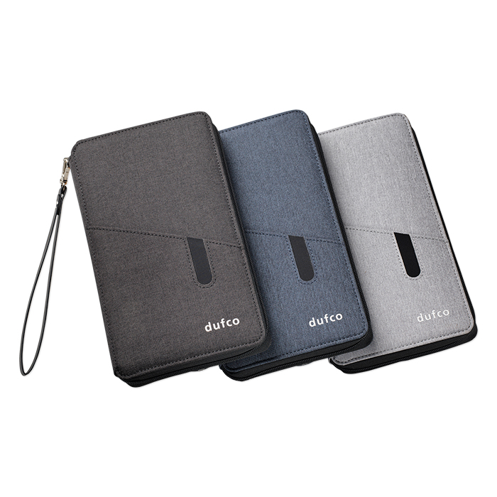 Dufco Travel wallet with Powerbank