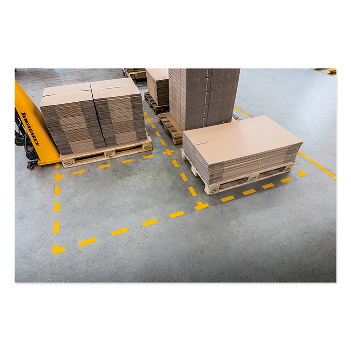 Durable Floor Marking Shapes
