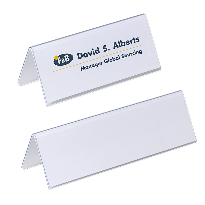 Durable Table name plate stand