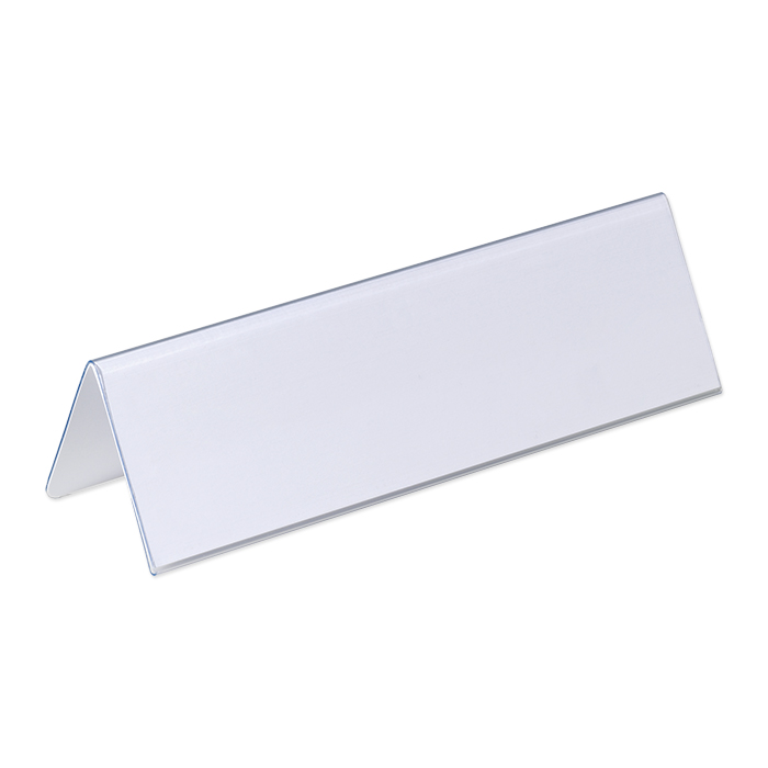 durable table name plate stand display 210 x 65 mm online bestellen