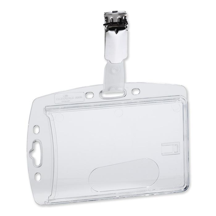 Durable badge holder