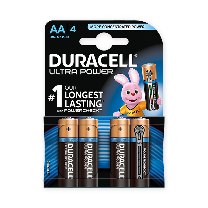 Duracell AA Ultra Power