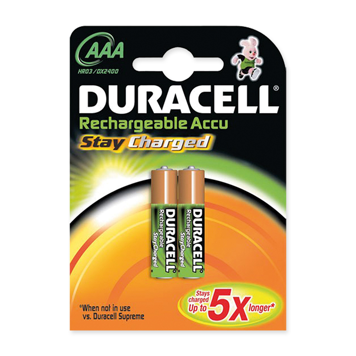 Duracell Akku Batterie Stay Charged