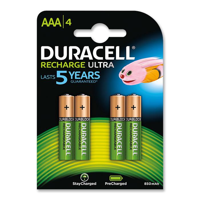 Duracell Akku Batterie Ultra, Micro, HR03, AAA