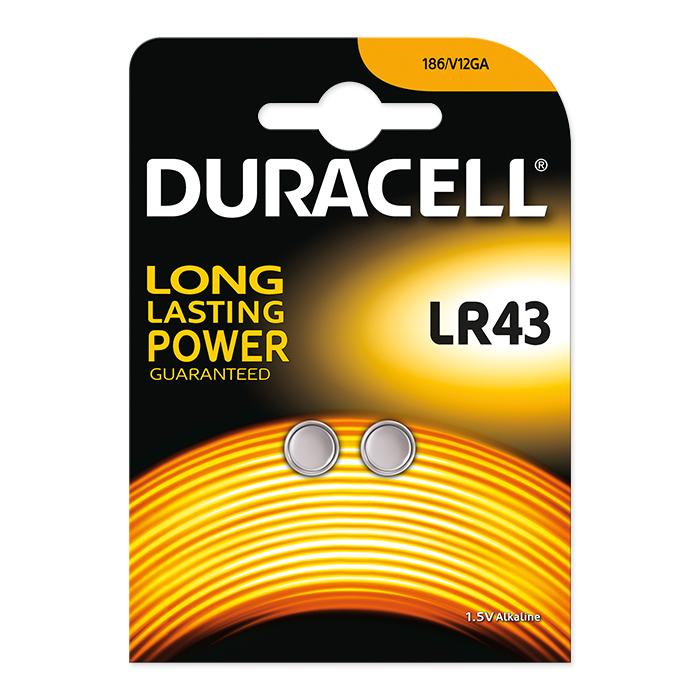 Duracell Alkaline LR43