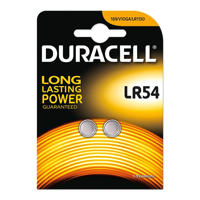 Duracell Alkaline LR54