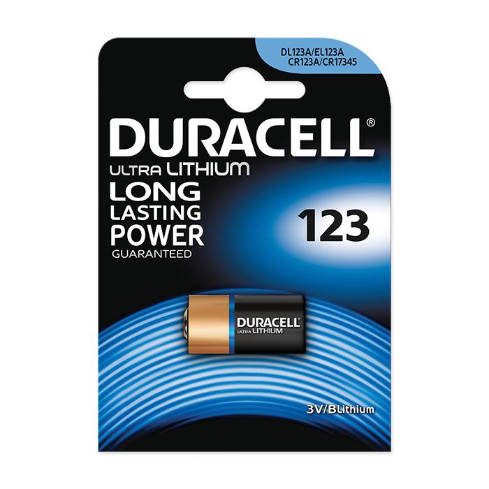 Duracell Lithium 123
