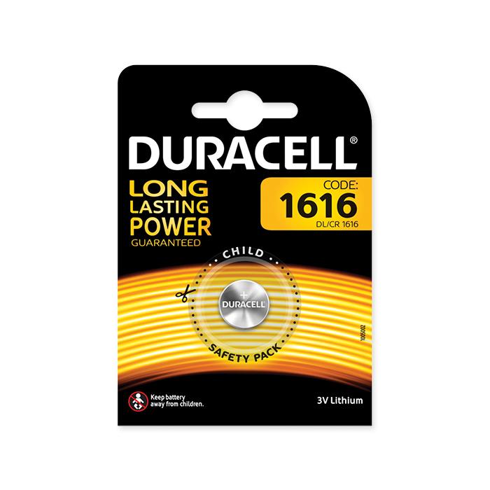Duracell Lithium CR1616