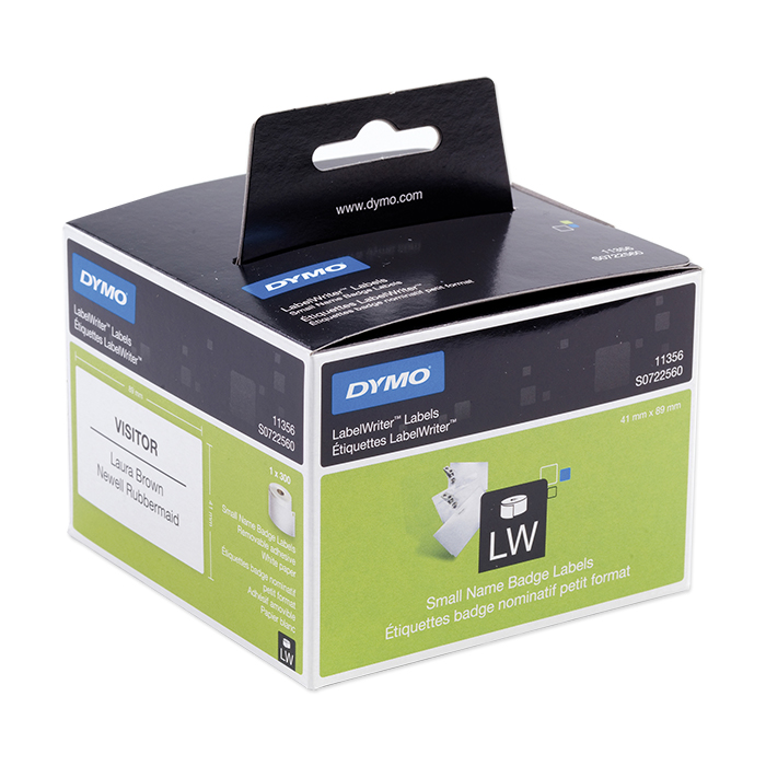 Dymo Labels for label printers Multi-purpose, 41 x 89 mm, white, detachable