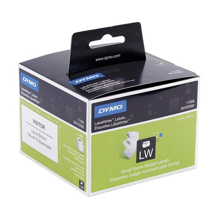 Dymo Labels for label printers Multi-purpose, 41 x 89 mm, white, detachable