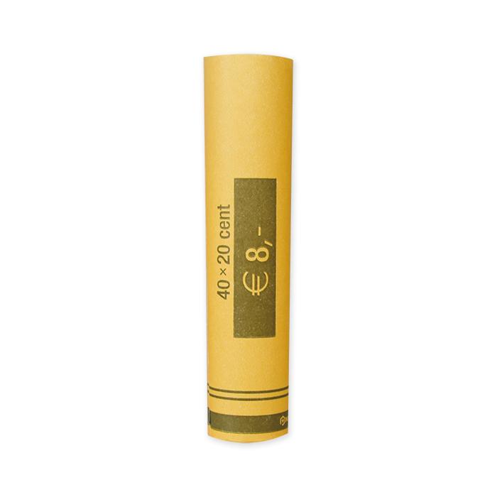 EUR coin tube