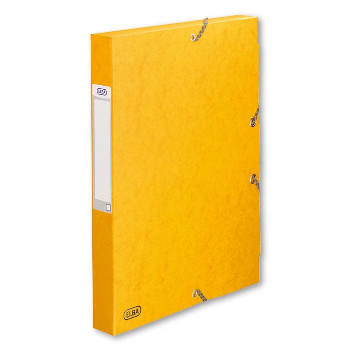 elba sammelbox boston 35 mm gelb online bestellen schoch v gtli. Black Bedroom Furniture Sets. Home Design Ideas
