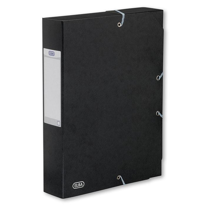 elba sammelbox boston 60 mm schwarz online bestellen schoch v gtli. Black Bedroom Furniture Sets. Home Design Ideas