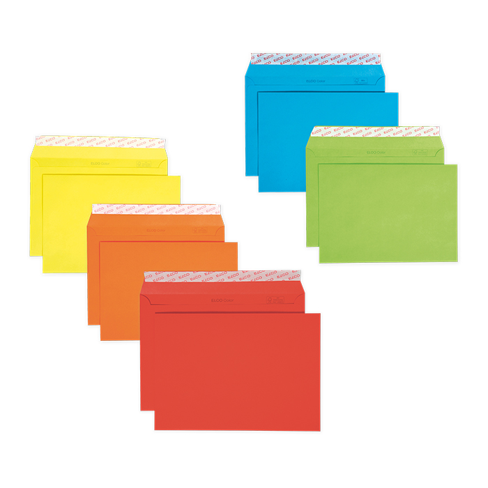 Elco Envelopes coloured