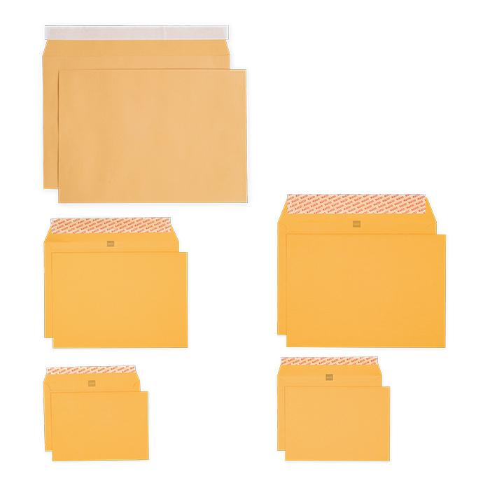 Elco Envelopes yellow Bank