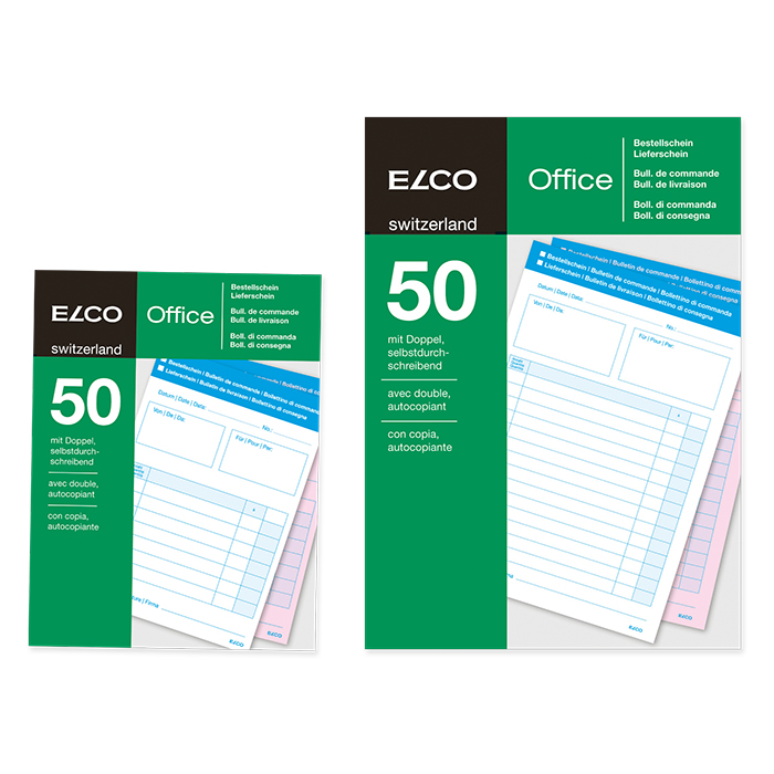 Elco Order / Delivery note book Office