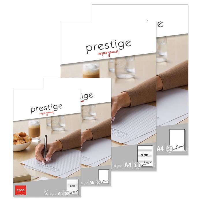 Elco Schreibblock Prestige