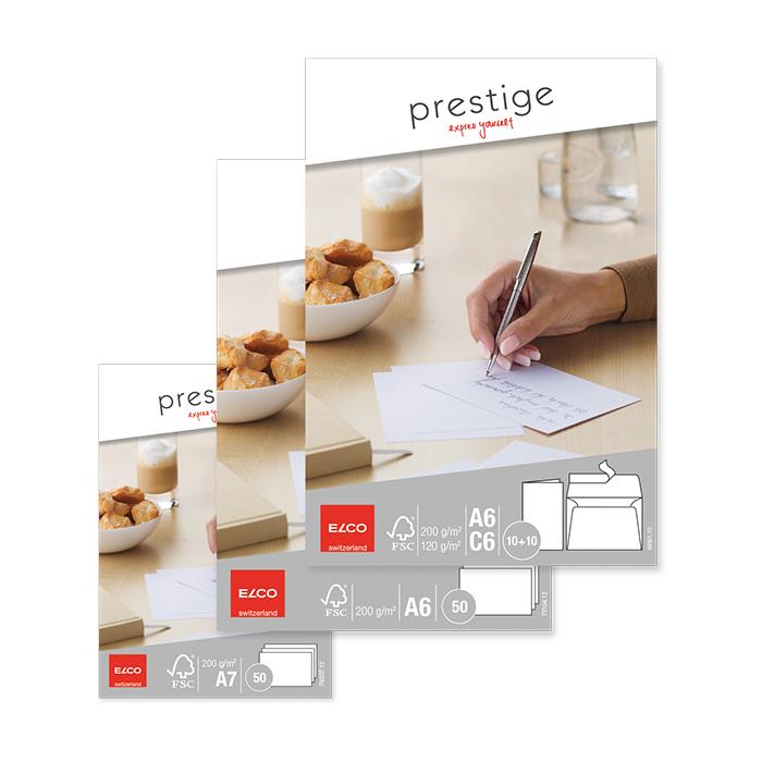 Elco Schreibkarten Prestige