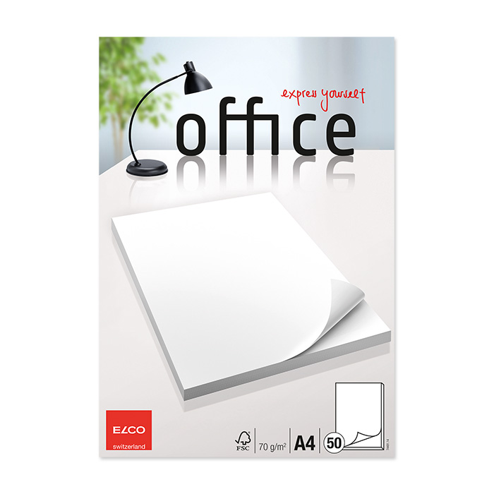 Elco Writing pad Office 70 gm²