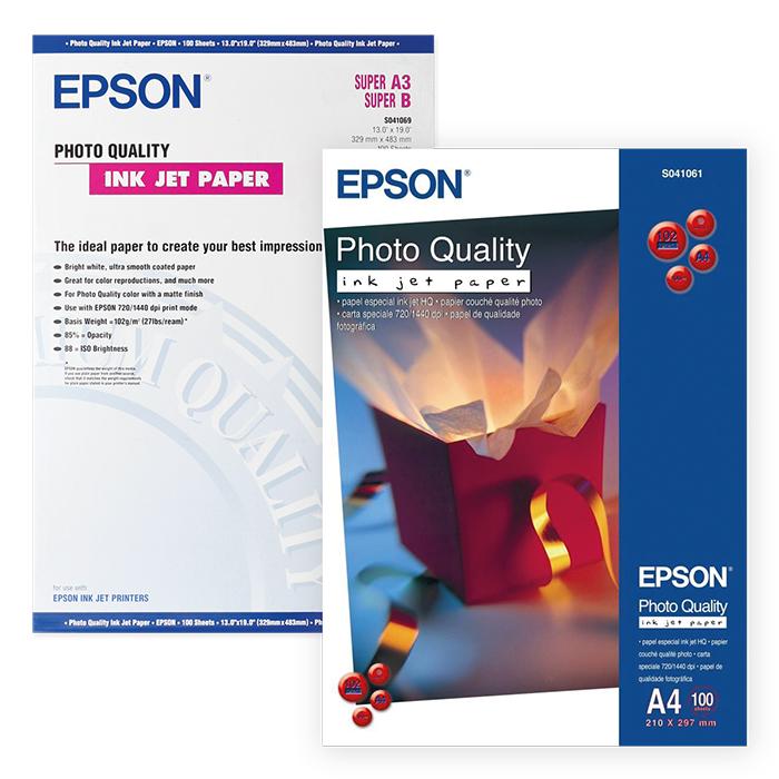 Epson Ink-Jet Fotopapier Photo Quality