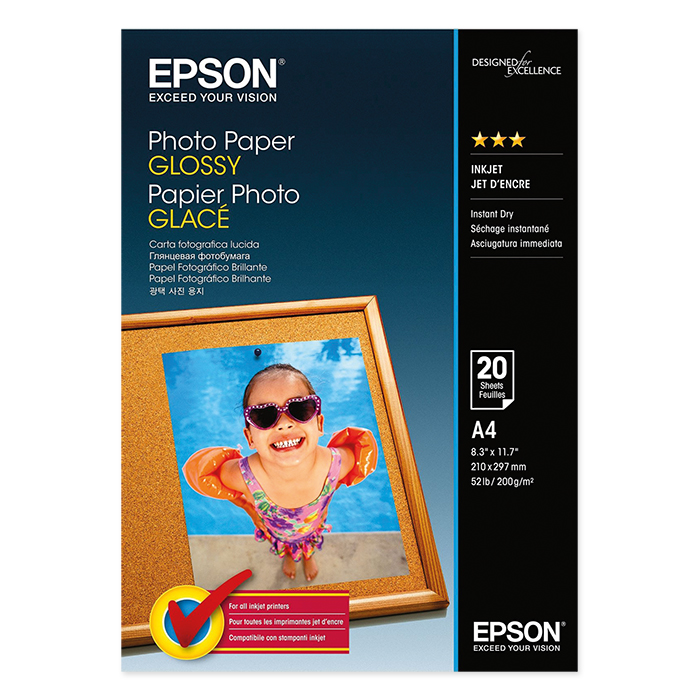 Epson Inkjet photo paper glossy