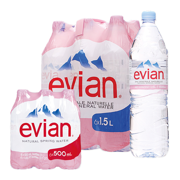 Evian Acqua minerale