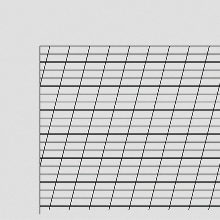 Exercise book 3,5 mm ruled, 10½ mm writing line, 7 mm diagonal line