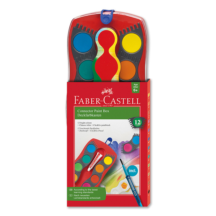 Faber-Castell Deckfarbkasten Connector