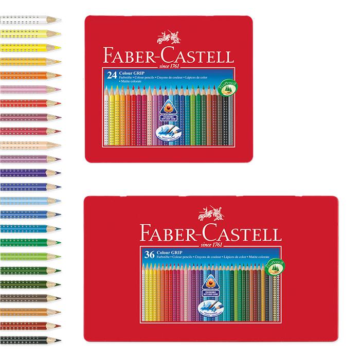 Faber-Castell Farbstift Colour GRIP Einzelfarben