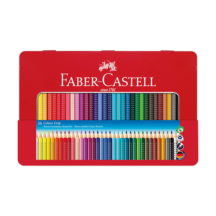 faber castell farbstift colour grip sortiment 36er. Black Bedroom Furniture Sets. Home Design Ideas