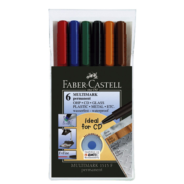 Faber-Castell Multimark Permanent Marker F
