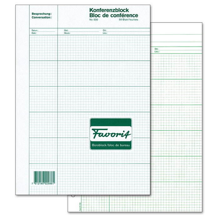 Favorit conference pad