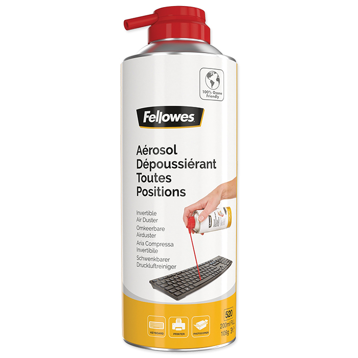 Fellowes Compressed air cleaner, invertible, HFC free