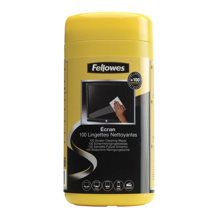 Fellowes cleaning cloths