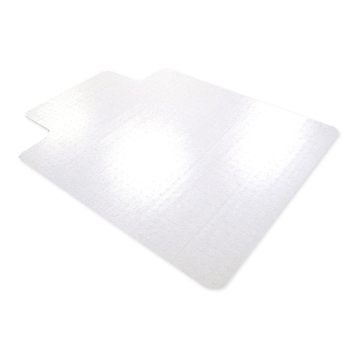 floortex bodenschutzmatte f r hartb den 115 x 134 cm rechteckig mit lippe 63 x 30 cm online. Black Bedroom Furniture Sets. Home Design Ideas