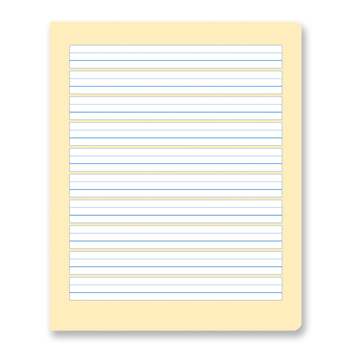 Formati Schreibheft quart, S2