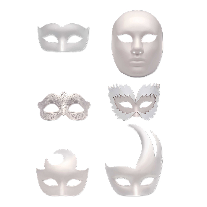 Maschera e assesoiri