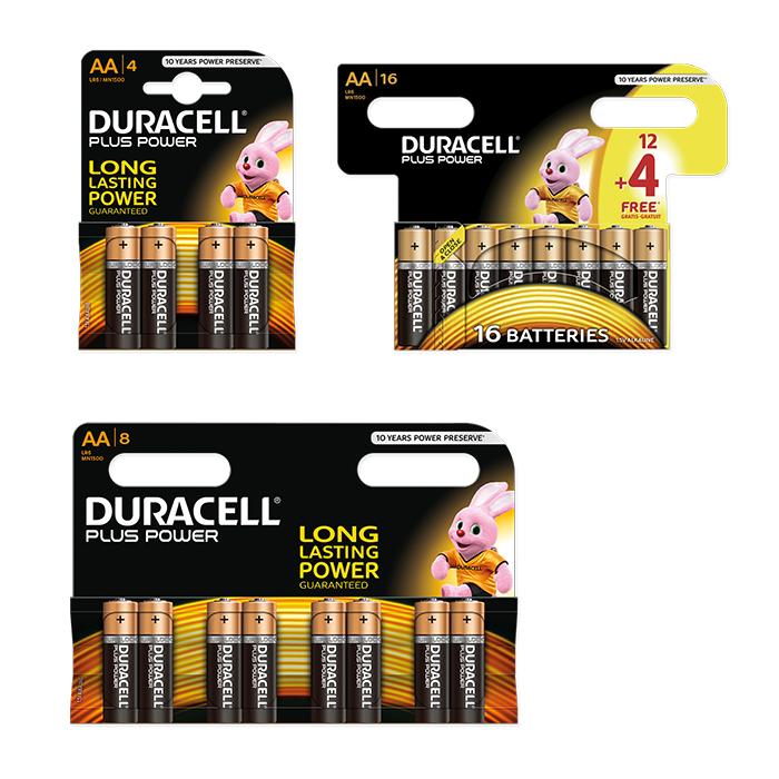 Duracell Alkaline Batterien