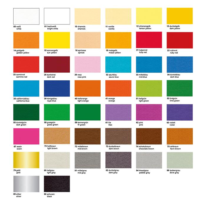 Colored Cardboard