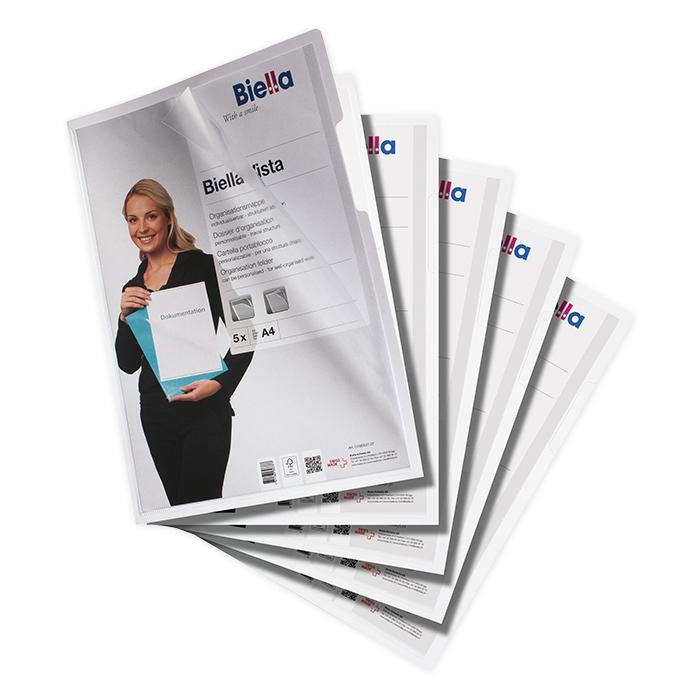 Sicht- / Organisationsmappen Papier