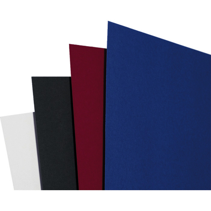 GBC Binding cover LinenWeave blue