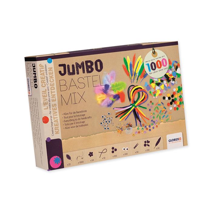 Glorex Bastelpackung, Jumbo Bastel Mix